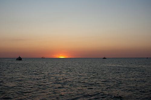 Łeba zdjęcie morze