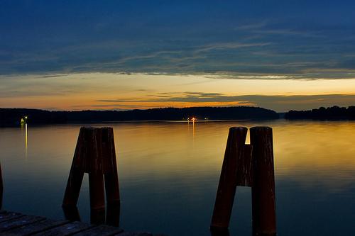 Olsztyn jezioro Krzywe