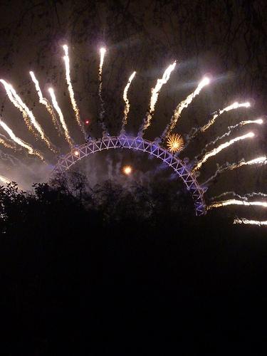 Nowy Rok zdjęcie fajerwerki