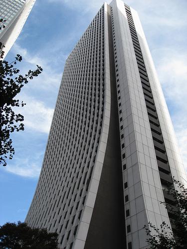 Drapacz chmur w Tokio