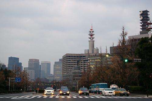 Wieżowce Tokio