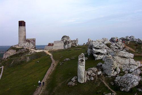 zamek olsztyn koło częstochowy