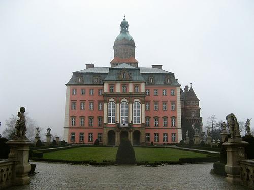 Zamek w Książu zdjęcie