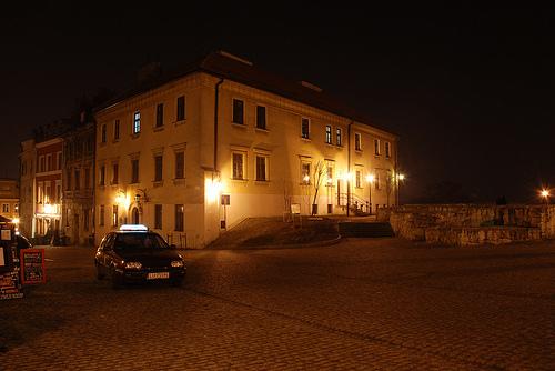 Lublin w nocy