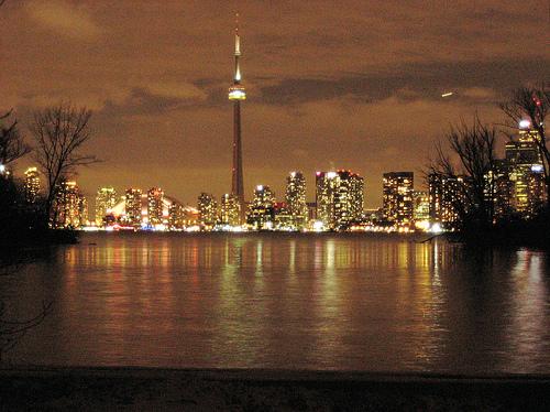 Toronto nocą