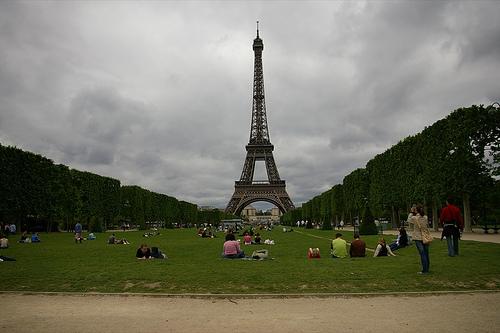 Wieża Eiffla - Paryż