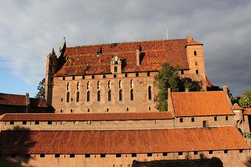 Zamek w Malborku zdjęcia