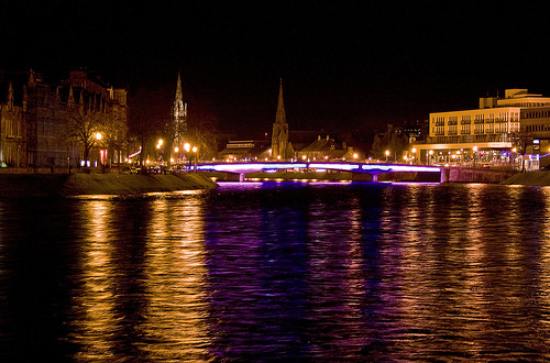 Inverness nocą