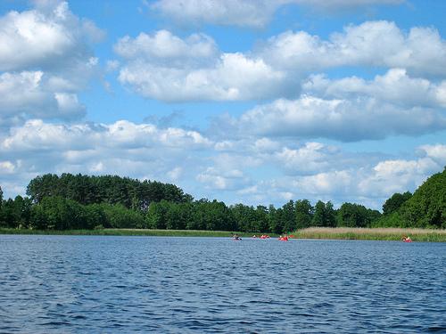 Kaszuby - jezioro