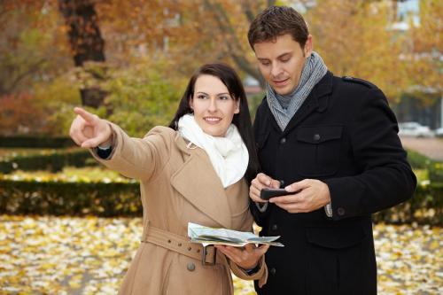 mobilny przewodnik turystyczny