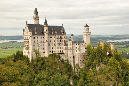 zamek Neuschwanstein - Bawaria