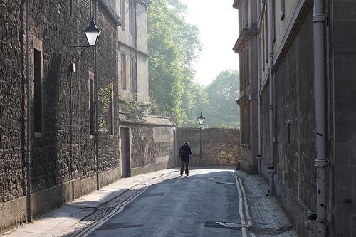 Uliczka w Oxfordzie