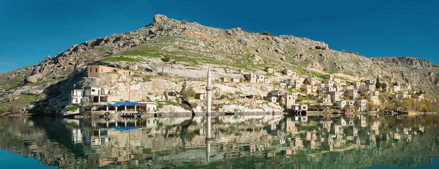 Halfeti - zatopione miasto