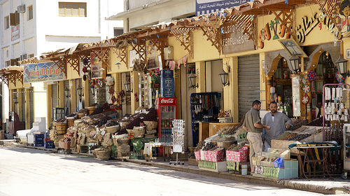 Egipt, ulica handlowa