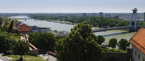 Bratysława - panorama