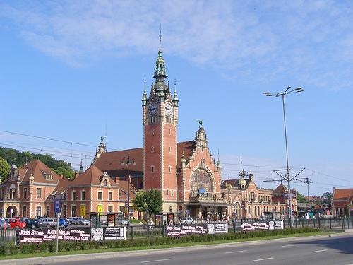 Gdańsk, dworzec główny