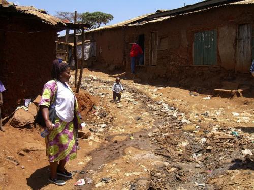 slumsy Kibera